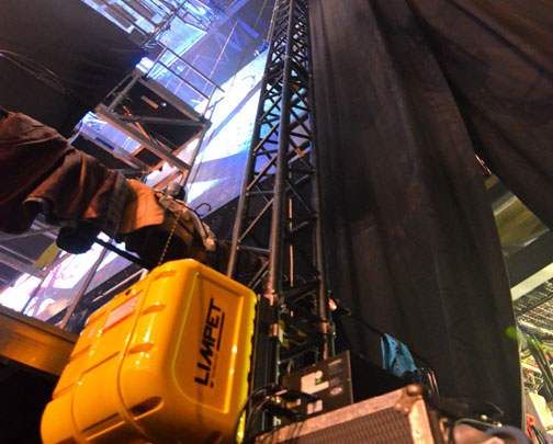 lift system backstage